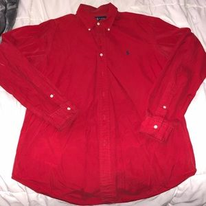 Pre Owned Classic Polo Long Sleeve Button Down